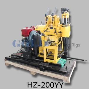 Quality water well drilling rig HZ-200YY drill up to 200 meters deep for sale