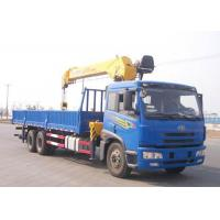 Construction Lifting Equipment Telescopic Truck Mounted Crane With CE