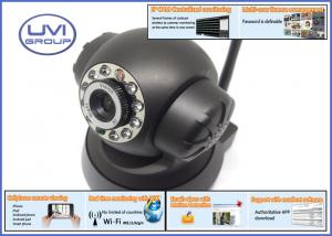 China UVI-IP02MB MSN / DDNS Server Wifi Wireless 300K Pixel IP Network Cameras with 1/5 Color CMOS Sensor on sale