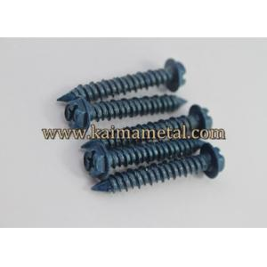 China Hex washer head  masonry screws, carbon steel, sharp point on sale