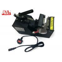 Black Digital Heat Press Transfer Machine , Sublimation Heat Transfer Press Machine
