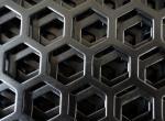 la poudre de 1000mm*2000mm enduisant la tôle perforée métrique pour l'Afrique/PVDF enduisant le métal perforé décoratif engrènent