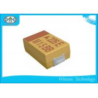 China Large Size Solid Tantalum Chip Capacitors 33μF - 1500μF Case E For Electronic Products on sale