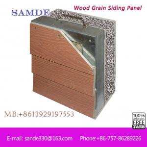 Cheap Price Cladding Siding For Exterior Walls Panels Decoration  3050*192*7.5/9mm