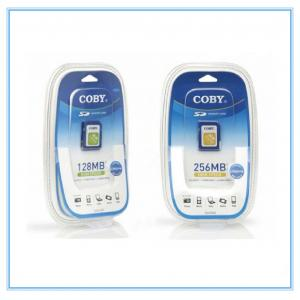 China Memory Card Blister Card Packing Customize Waterproof With PVC Cover on sale