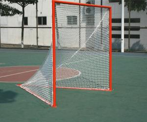 China Professional Lacrosse Goal(6'*6'*7' Steel frame, Orange powder coated) on sale
