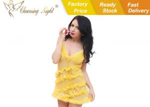 China Beautiful 7 Colors Womens Sexy Lingerie , sexy night wear dresses on sale