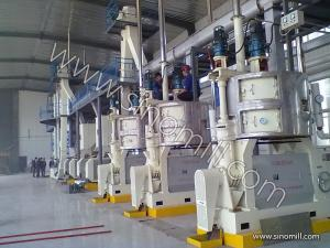 China Efficient Fine filter Peanut Oil Press Machine with Hot pressing process on sale