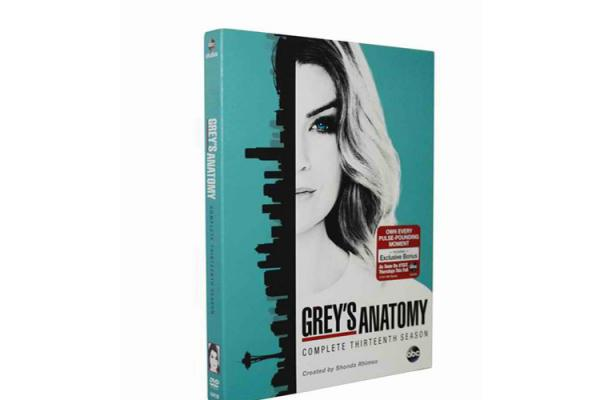 f31ab8992fe Wholesale Grey's Anatomy: The Complete Season 13 US Movie TV Show DVD Images