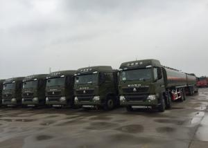 China Oil Transport Vehicle Fuel Oil Delivery Truck  Mobile Station 25 - 30 CBM Euro 2 on sale