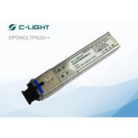 GEPON OLT Px20 ++ Optical Module 30km Simplex SC Port 1000 Base - T SFP Transceiver Module