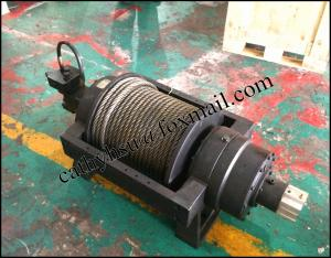 China hot sell recovery hydraulic winch for 4x4 off road/ truck /trailer / wrecker supplier