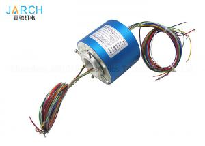 China 38.10mm Through Bore Electrical Slip Ring 3.9  Overall Diameter With  Rotary Joint on sale