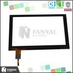 産業7インチは容量性2ポイント タッチ画面LCDの表示モジュールを写し出しました
