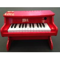 Tablet Kids 25 Key Toy Wooden Piano Digital Pure Piano Tune AC Adaptor