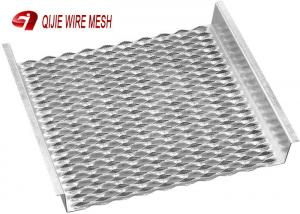 China Heavy Duty Anti Slide Anti Slip Grating Steel Metal Safety Grating With Grip Strut on sale