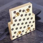 Wear Block Solid Bronze Self Lube Wear Plates Lower Friction Brass Wear Plate C86300 Retainers standard Dayton Moeller