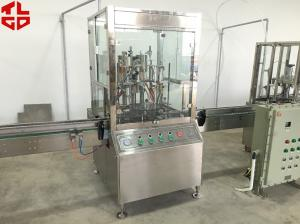 China Anti Rust Spray / Mould Release Automatic Aerosol Filling Machine 316 Stainless Steel on sale
