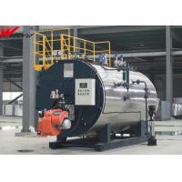 China Schools Fire Tube 20T/H Natural Gas Steam Boiler on sale