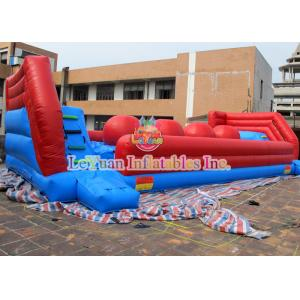 China Eco - Friendly Events Inflatable Wipeout Course Big Baller Games For Party on sale