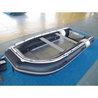 PVC 470cm inflatable dinghy Easy Take Against Abrasion With Foot Pump for water racing