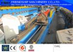 Automatic Punching C Z Purlin Roll Forming Machine , 1.0-3.0mm Thickness