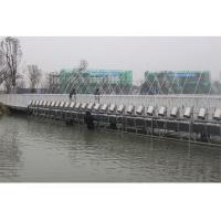 China Large Water Park Laminar Flow Fountain , Laminar Jets Water Features Long Using Life on sale