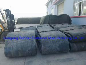 China Natural rubber marine airbags all size can be custom made 1.2*10m  1.5*15m black color on sale
