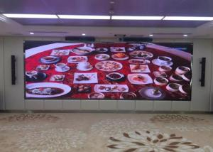 China Small Distance LEDVideo Wall Panels P2.5 HD 1/32 Scanning Drive For Hotel Lobby on sale