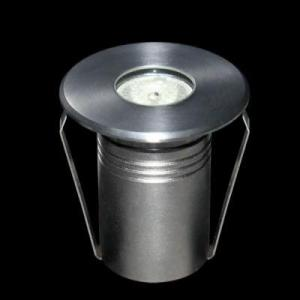 China 1*3W Single/RGB Symmetrical Light  IP68 Stainless Steel Small type Recessed LED pool light on sale