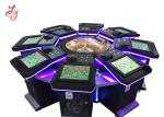 High Profits Electronic Roulette Machine Entertainment For 8 Players