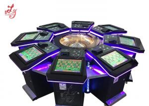 China High Profits Electronic Roulette Machine Entertainment For 8 Players on sale