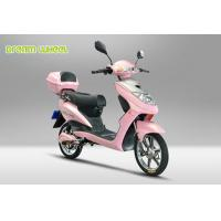 "Pink 16"" 2 Wheel Pedal Assist Electric Bike , Electric Motor Assisted Bicycle For Girls"