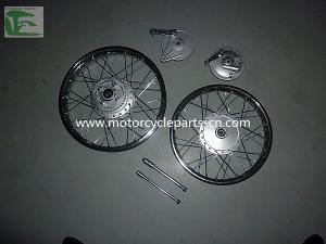 Front Wheel Drum Brake Bajaj Motorcycle Parts Boxer 100 FRONT Front