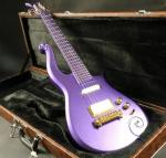Quality sh covered pickup purple prince set in neck painted fretbard prince Electric guitar Guitar
