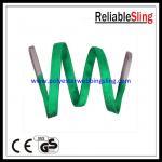 Doble - honda de elevación de la correa de las correas del poliéster de la capa 2T con 5:1 del factor de seguridad