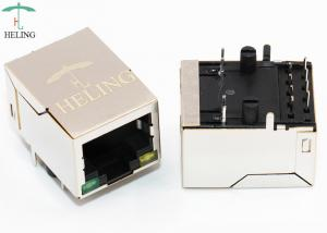 China THT Soldering Right Angle RJ45 8 Pin Connector Tab Down For PC Mainboard on sale