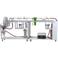 Filter Media Tester DFP 3000, Compressed air filter test rig