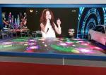 Waterproof Led Stage Screen Rental P6.25 Interactive LED Dancing Floor Display Heat Dissipation