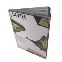 Perfect Binding Softcover Catalog Printing Services Full Color Booklet Printing