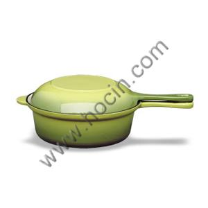 China Cocina combinada esmaltada del arrabio on sale