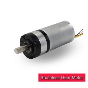 China 36mm 24v DC Planetary Gear Motor / DC Planetary Gearbox With Brushless Dc Motor on sale
