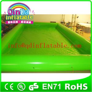 China PVC inflatable adult swimming pool large inflatable pool large inflatable swimming pool on sale