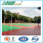 Durable Sport Court Surface All Weather Floor Corrosion Resistant 3mm