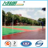 China Durable Sport Court Surface All Weather Floor Corrosion Resistant 3mm on sale