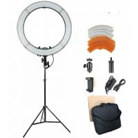 18 inches 3200-5600K Dimmable LED Ring Light Kit for Portrait Makeup Video Shooting