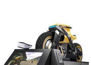 China SSD 120 G VR Motion Simulator , Secure Headset Storage Virtual Reality Motorcycle on sale