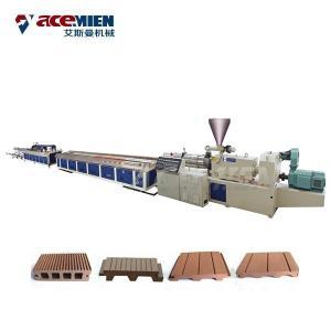 China PE HDPE Door Floor Deck Profile Production Line PC WPC Plastic Wood Durable on sale