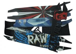 Quality High Strength Skateboard Non Slip Tape Withstanding Cold And Hot Temperatures for sale