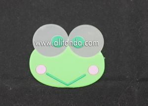China Custom logo printing cheap promotional price wholesale frog elephant coasters for office bank home use on sale